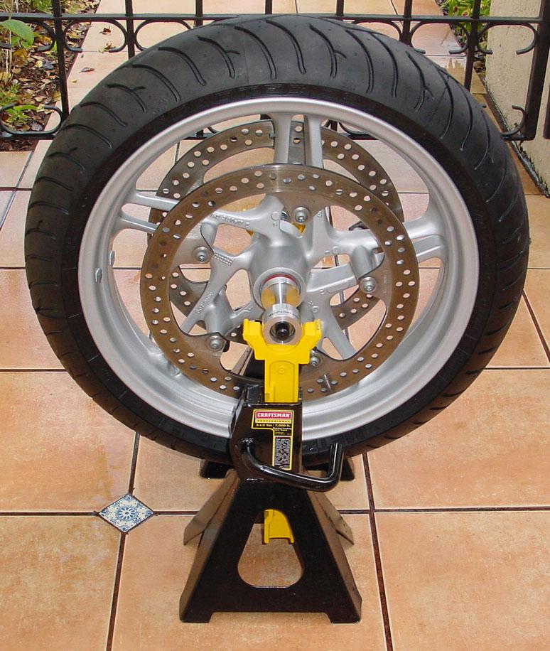 bmw motorcycle wheel balancer
